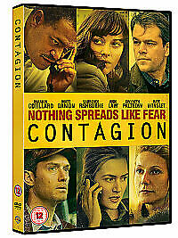 Contagion  (DVD - BRAND NEW & SEALED) Matt Damon