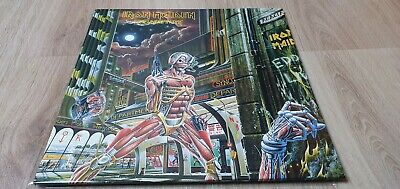 Iron Maiden. Lp. Somewhere In Time. 1986 Japan Special Edition. Pure Beauty!!!!!
