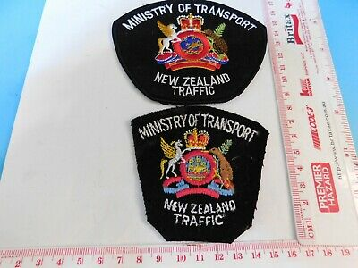2 New Zealand Ministry of Transport Traffic Patches Obsolete Hard/2/get