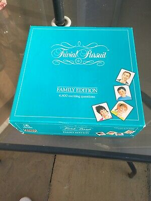 Trivial Pursuit Family Edition, All Intact, With Full Set Of Cheeses, Complete