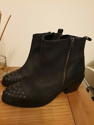 Kurt Geiger Leather Ankle Boots 6