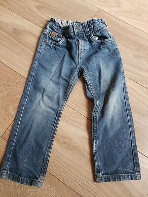 Next Boys Skinny Blue Jeans Age 4 Years