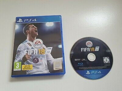 Fifa 18 - Ps4 - Football - Excellent Condition