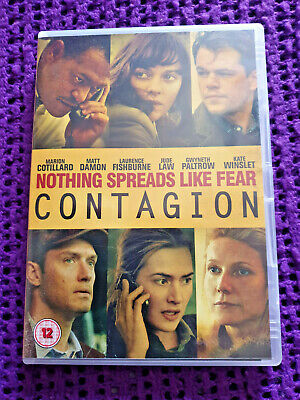 Contagion (DVD, 2012) excellent condition Scary Virus Thriller Kate Winslet