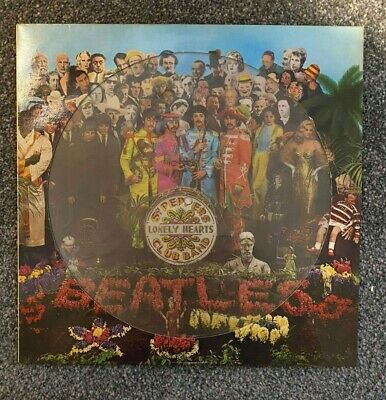 The Beatles - Sgt Pepper's Lonely Hearts Club Band - Picture Disc Vinyl Album