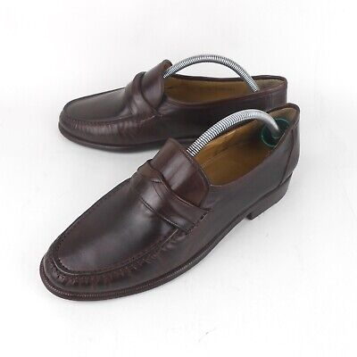 Church's | Como III Brown Leather Loafers Moccasins Welted Shoes | Men UK Size 8