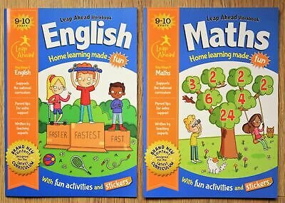 Maths English Educational Activity Book x 2 Year 5 Home Learning Bundle 9 10