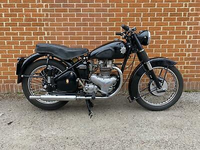 BSA A7 500cc STAR TWIN 1951 CLASSIC MOTORCYCLE (FREE DELIVERY)