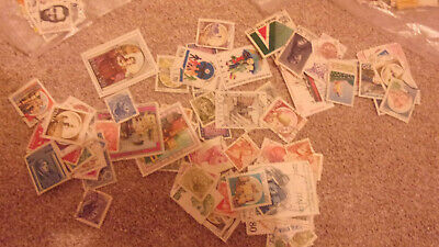 185 World Off Paper Collection /Mixture Stamps