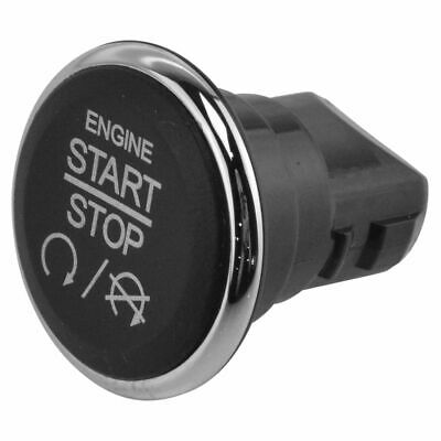 Ignition Switch Stop//Start Keyless Dash Mount Push Button Replacement for Dodge Chrysler Jeep SUV Van 1FU931X9AC