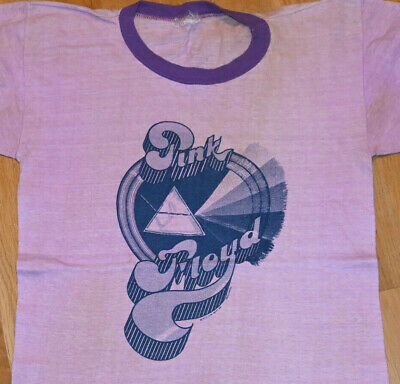 1973 PINK FLOYD vintage rock concert tour band tee t-shirt (M) Ultra Rare! 70s
