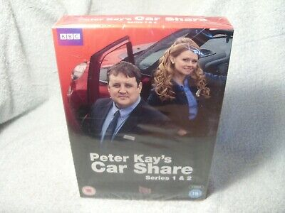 Peter Kays Car Share Series 1 & 2 - NEW / Sealed