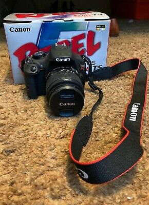 Canon EOS Rebel T5 18.0MP Digital SLR Camera - Black (EF-S 18-55mm Lens)