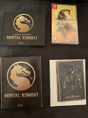 Mortal Kombat 11 XI Collector Edition Omake Games Nintendo Switch 1 of 200 ONLY