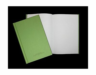 Green Military Log Book Record Memorandum 5-1/2 X 8 Green LogBook 192 Pages