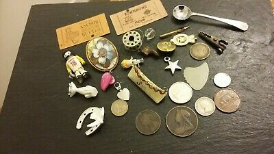 Victorian Coins and other items