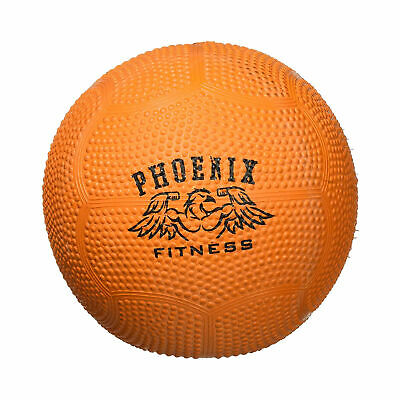 Phoenix Fitness Small 3kg No Bounce Medicine Slam Ball with Textured Easy Grip
