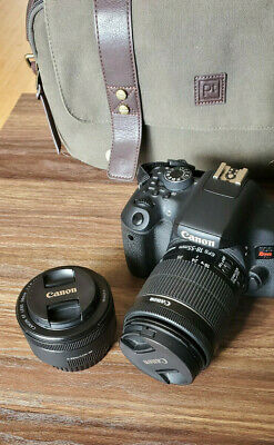 Canon T6I Used DSLR Camera Bundle with Macro Lens - Canon camera bundle