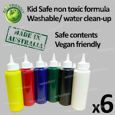 Kids Craft Paint Set | no chemicals safe for kids at school or home | washable