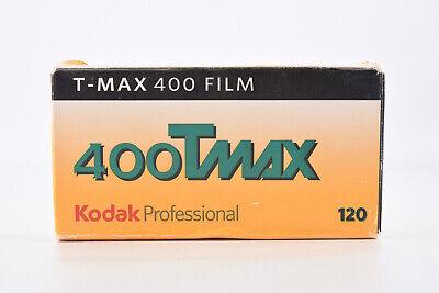Kodak TMAX 400 120 Black & White Film 5 Roll Pro Pack EXPIRED 3/2010 V03