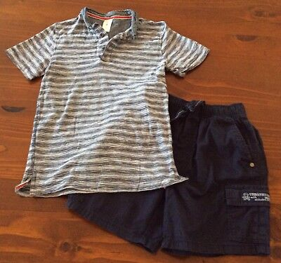 Size 8 shorts and top, EUC