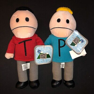 VINTAGE 1998 TERRANCE & PHILLIP SOUTH PARK PLUSH New With TAGS RARE
