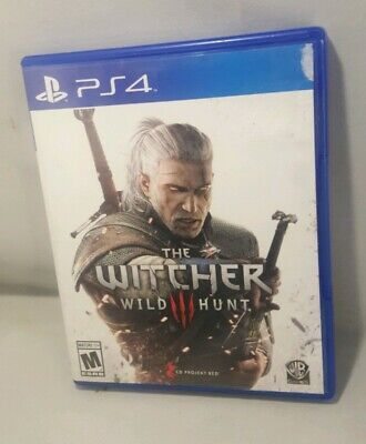 The Witcher III 3 Wild Hunt PS4 Playstation 4 Complete CIB RPG Series Season