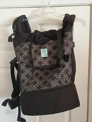 LÍLLÉbaby 4-in-1 Essentials Black Plus Size Baby Child Carrier Circle of Love