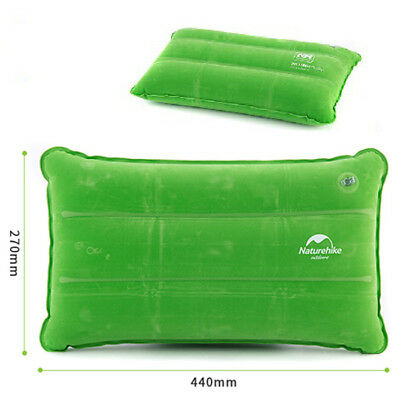 Portable Ultralight Inflatable Air Pillow Cushion Travel Hiking Camping Outdoor