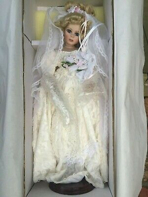 Hillview Lane 1998 'Genevieve' Porcelain Doll Moonee Ponds 3039