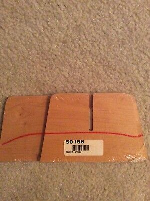 """Classic Longaberger 7/"""" Measuring 4-Way WoodCrafts Dividers"""