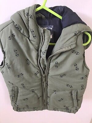 boys Winter puffer vest Size 1-2
