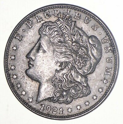 1921-D Morgan Silver Dollar - Charles Coin Collection *289