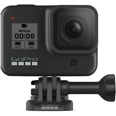GoPro HERO8 Black Action Camera BRAND NEW FACTORY SEALED!!  Model : CHDHX-801