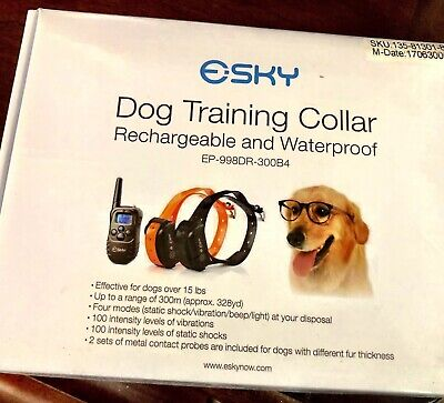 Sky Dog Training Collar NIB