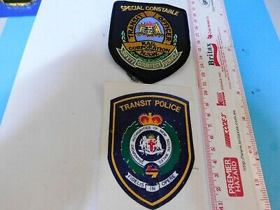 2 NSW Transit Officer & Police Patches Obsolete Hard/2/get