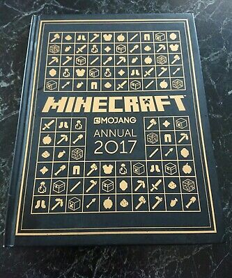 Minecraft  Annual 2017 Mojang ~Hardcover Book