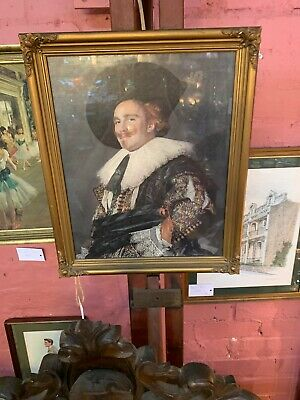 The Laughing Cavalier - Frans Hals - Print - Victorian Gilt Frame