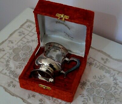 Silverplate  Goblet - Stein - Mug - Chesterfield - Boxed