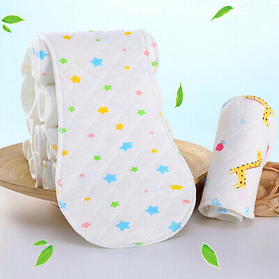 Baby Cloth 3-Layer Bamboo Cloth Diaper Inserts For Reusable Pocket Cloth Diaper