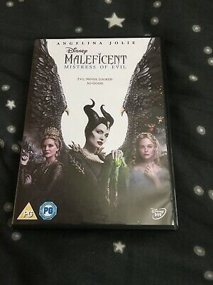 Maleficent: Mistress of Evil DVD (Watched Once)