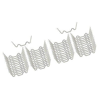 """Two Packs x 50 Stainless Steel Spring /""""G/"""" Greenhouse Glazing Clips"""