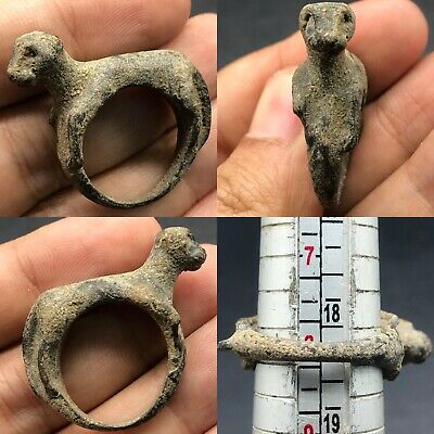 Lovely Antique Old Roman Wonderful Lion Roman ring