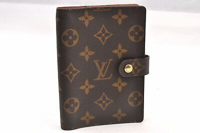 Authentic Louis Vuitton Monogram Agenda PM Day Planner Cover R20005 LV 93950