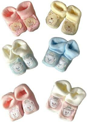 "Teddy Bear Clothes will fit an approx 15 "" Build a Bear Blue Pink Cream Slippers"