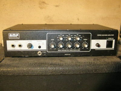260 WATTS BASS AMP by AMP - made in USA - EX - ACOUSTIC AMPS