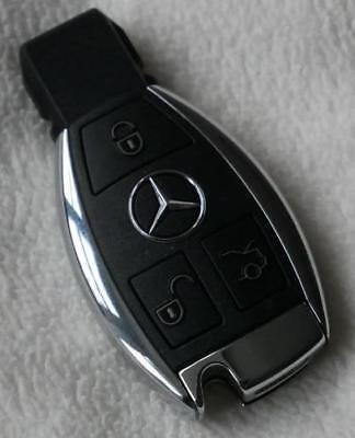 Mercedes Benz 3 Button Remote Alarm Key Fob (no pull out key)