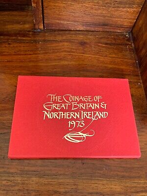 1973 Coinage Of Great Britain & Northern Ireland Proof Coin Set Mint