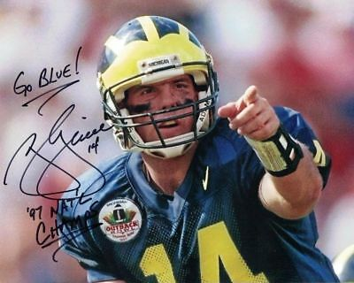 Brian Griese MICHIGAN WOLVERINES Signed autographed 8x10 photo RP