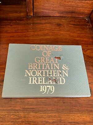 1979 Coinage Of Great Britain & Northern Ireland Proof Coin Set Mint